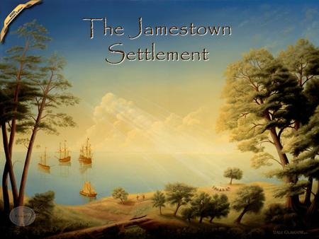 The Jamestown Settlement -Roanoke failure discouraged other settlements momentarily. With the Spanish Armada defeated, new groups tried again as the.