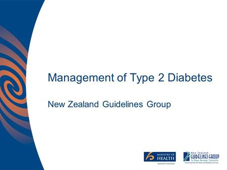 Management of Type 2 Diabetes New Zealand Guidelines Group.