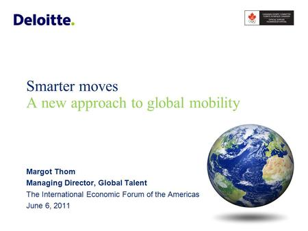 Challenges driving new global mobility requirements