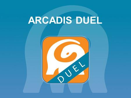 ARCADIS DUEL. A fun and engaging quiz app to demonstrate and develop your knowledge of the business and connect internationally.