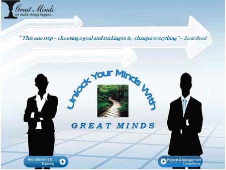 2 EXECUTIVE SUMMARY GREAT MINDS GREAT MINDS is a Strategic Management Consulting Hyderabad based company established in 1996 Offering Services in most.