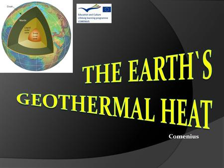 Comenius. The Earth's geosphere The atmosphere – thickness -800 km The atmosphere is composed mainly of nitrogen and oxygen. It protects the earth from.