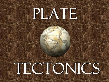 Plate Tectonics. Oceanic and Continental Crust The top layer of the Earth's surface is called the crust. Oceanic crust (the thin crust under the oceans)