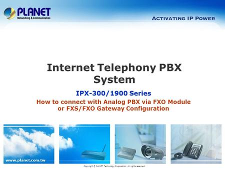 Internet Telephony PBX System