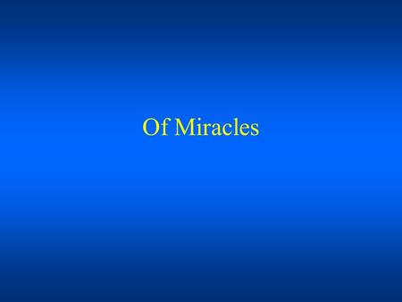 Of Miracles. A vision of Jesus in the clouds? A six-inch-high porcelain statue began weeping tears of blood. The liquid staining the image is genuinely.