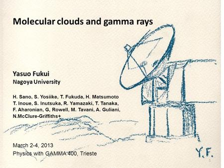 Molecular clouds and gamma rays