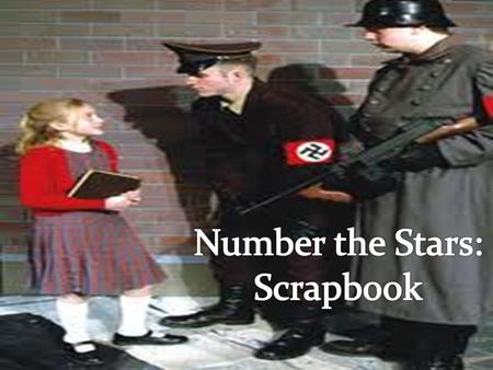 Number the Stars: Scrapbook.