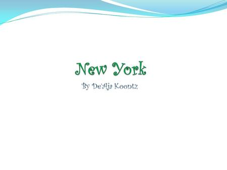 By De'Aja Koontz. New York's outline New York state song I Love New York I LOVE NEW YORK (repeat 3 times) There isn't another like it. No matter where.