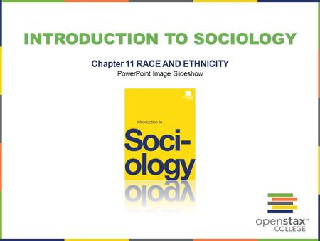 INTRODUCTION TO SOCIOLOGY Chapter 11 RACE AND ETHNICITY PowerPoint Image Slideshow.