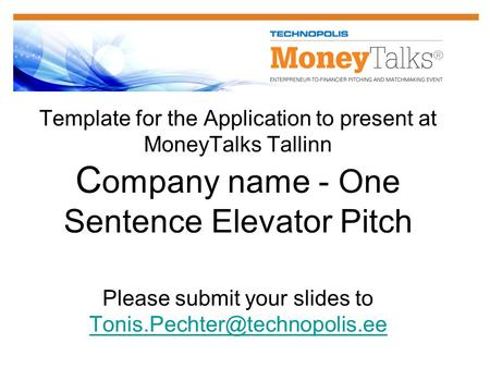 The Perfect Pitch - Agenda - Ppt Download