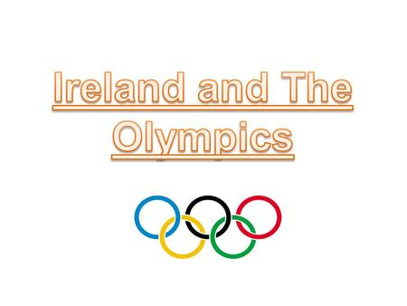 Ireland first competed at the Olympic Games in 1924 as the Irish Free State. Prior to this, Irish athletes competed as part of Great Britain.