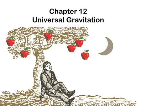 Chapter 12 Universal Gravitation. What is gravity? We are all familiar with gravity. We see and feel the effects of gravity every day, but what is it?