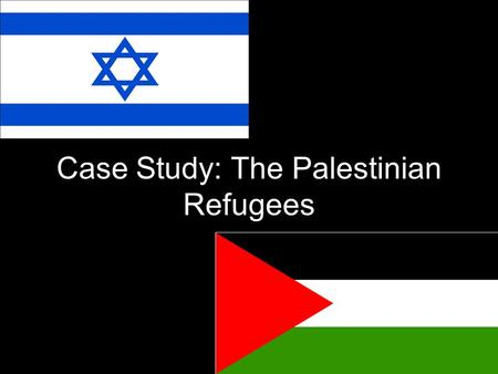 Case Study: The Palestinian Refugees. The Modern Mid East  Modern ME is home to various struggles and conflicts…  Terrorism, religious conflict, etc…