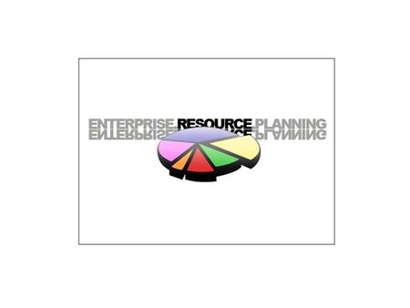 Enterprise Resource Planning Enterprise Resource Planning Systems is a computer system that integrates application programs in accounting, sales, manufacturing,