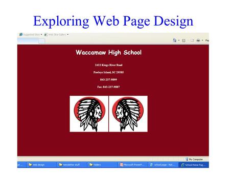 Exploring Web Page Design. What is a Web Page?  A web page is a multimedia file which can be stored on a web server.  It can include text, graphics,