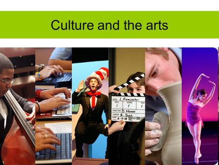 "Culture and the arts. Meaning of the culture and arts. The word culture is comes from the Latin word cultura and its meaning is to ""cultivate. Culture."