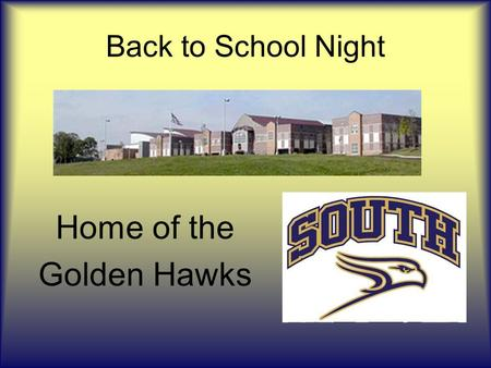 Back to School Night Home of the Golden Hawks. Mr. Silimperi Bio AAP & Accelerated Psychology HHead Wrestling Coach – CR SOUTH IInterim Social Studies.