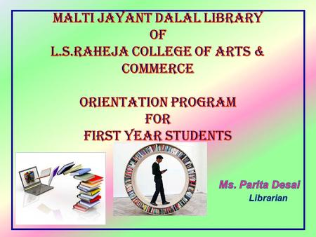 TOPICS  Library Services  Examination Rules  Attendance and Discipline  Women Development Cell  Remedial Lectures.
