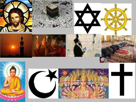 What symbols did you notice that were Christian symbols? What other symbols do you know?