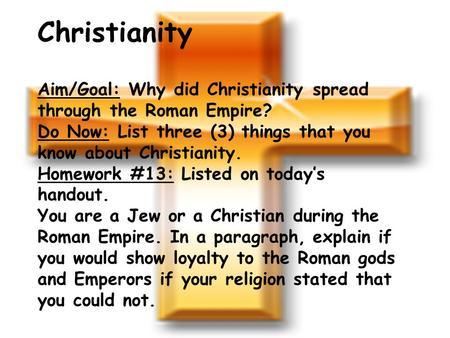religious spread through conquest essay