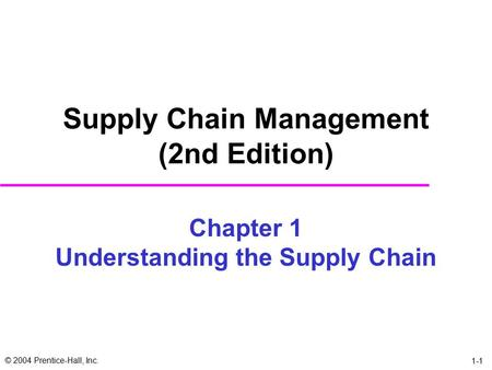 exercise of chapter 5 bookn supply chain chopra Chapter 5 contains a detailed explanation of a framework for facility decisions in a supply chain and chapter 6 examines how uncertainties in demand and financial factors impact on supply chain .