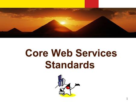 1 Core Web Services Standards. 2 (Simplified) Web Service Architecture Registry 1. Service Registers PUBLISH 3. Client calls Service BIND 2. Client Request.