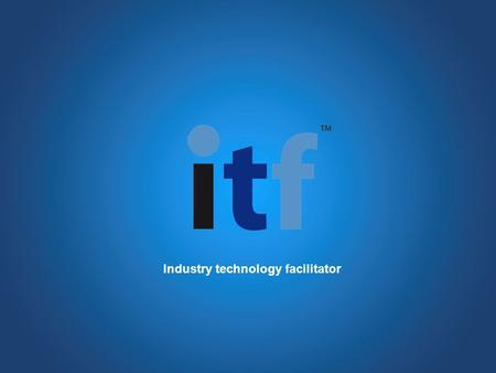 Industry technology facilitator. PowerPoint summary to accompany your proposal Slide Template.