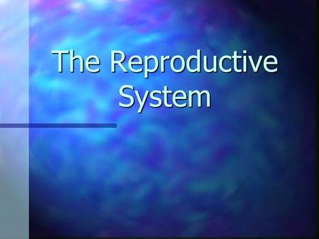 The Reproductive System. The Basics Reproduction is the only life function that is NOT necessary for the individual to survive BUT it is necessary for.