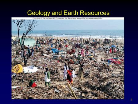 1 Geology and Earth Resources. 2 3 4 5 6 7 8.