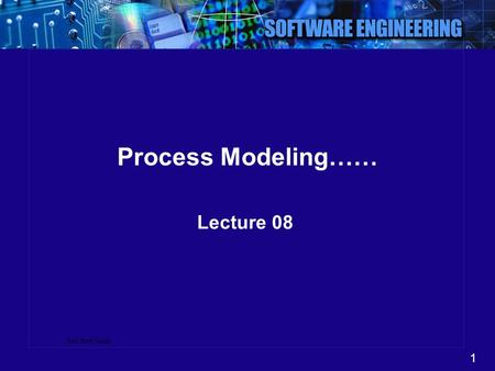 1 Ref: Prof Sarda Process Modeling…… Lecture 08. 2 Outline Data flow diagram (DFD)