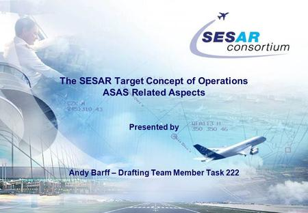 The SESAR Target Concept of Operations ASAS Related Aspects