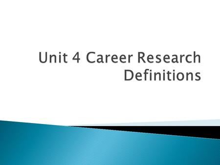  A computerized career information delivery system.