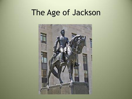 The Age of Jackson. Regional Economies create differences Industry took off in New England, whose economy depended on shipping and foreign trade. Eli.