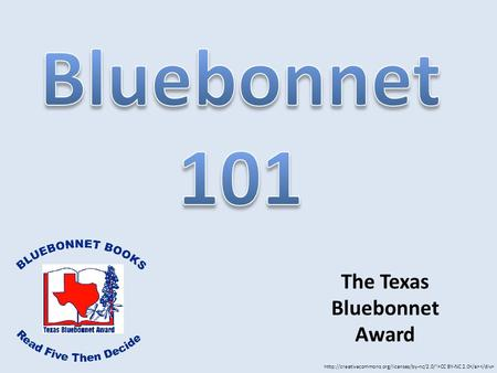 The Texas Bluebonnet Award  BY-NC 2.0.