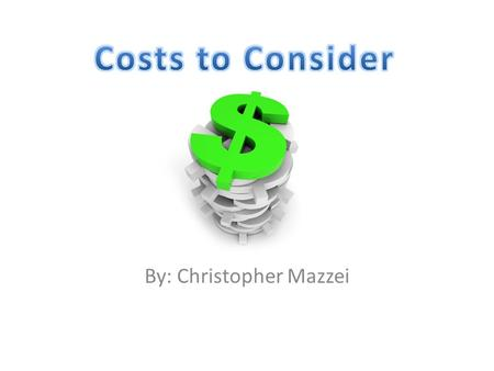 By: Christopher Mazzei. Viewpoints The owner of a company wants to keep costs down. An employee of the company wants a high wage or salary. There is always.