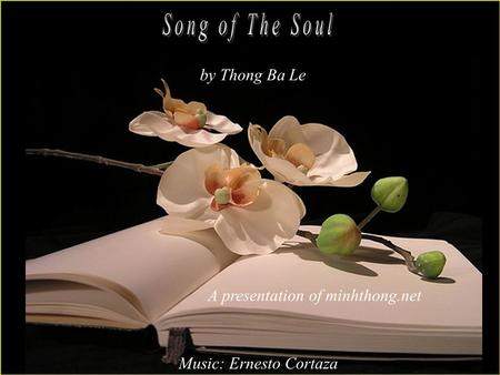 A presentation of minhthong.net Music: Ernesto Cortaza by Thong Ba Le.