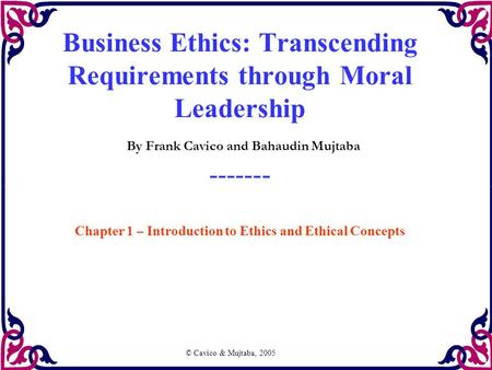 Business Ethics Chapter 7 & 8 Essay - Part 8
