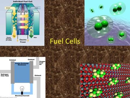Fuel Cells. Topic and Area of Science Topic: Creating Energy From Fuel Cells Areas of Science: Chemistry, Physics, Engineering What is a fuel cell? A.