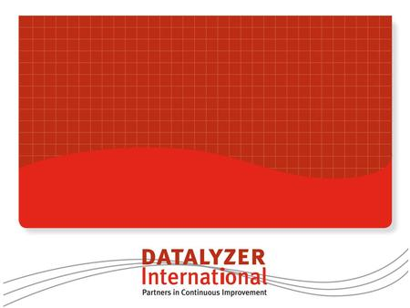 Introduction DataLyzer International Functionality and specifications Implementation and support Contents.