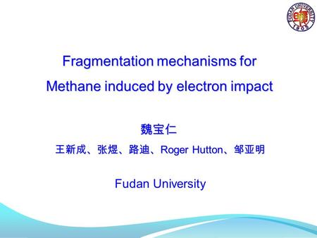 Fragmentation mechanisms for Methane induced by electron impact