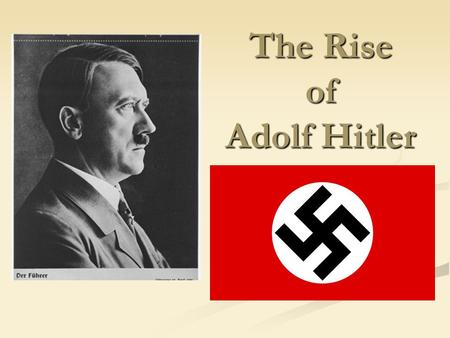the rise of weimar republic Hitler did not appear in a vacuum the ground was paved for him by the foolish policies of the weimar republic, which plunged germany into hyperinflation.