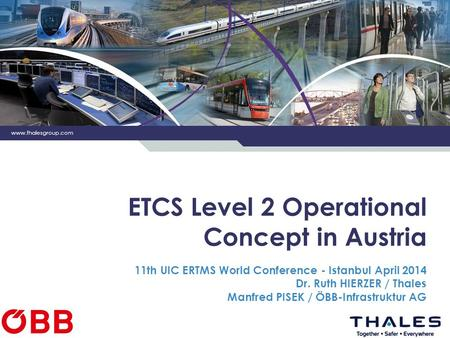 ETCS Level 2 Operational Concept in Austria