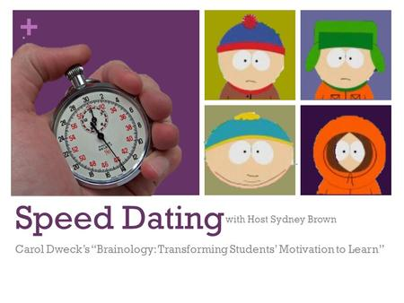 psychology speed dating Psychology of love 101 the book not only covers the most relevant research that the discipline of psychology has a new way to find a mate: speed-dating.