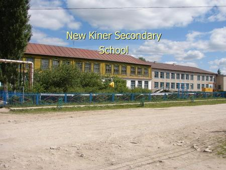 New Kiner Secondary School Sport and our health Worked: Nuriev Ilnar student of 11 B, Fazliahmetov Almaz student of 10 B form Teacher:Hairullina Leisan.