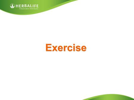 Exercise. Exercise Why is exercise so important to your wellness? – Improves your heart health – Improves bone density – Maintains muscle mass and strength.