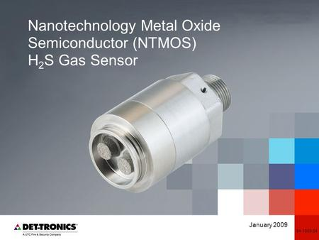 Nanotechnology Metal Oxide Semiconductor (NTMOS) H2S Gas Sensor