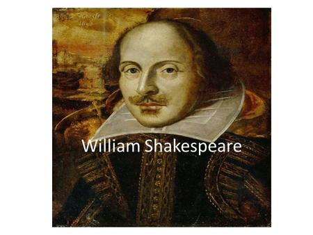 William Shakespeare. Thesis ; William's happiness in his marriage inspired him in most if not all of his comedies.