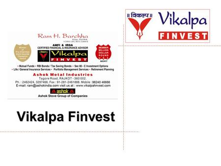 Vikalpa Finvest. CONTENTS  FINANCIAL PLANNING  EQUITY  SIP.