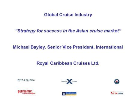 Global Cruise Industry