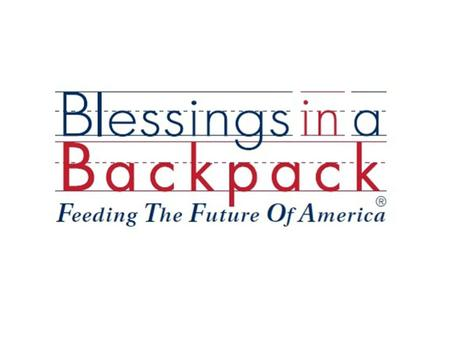 Our Mission Blessings in a Backpack partners with America to ensure impoverished elementary school children are fed on the weekends throughout the school.